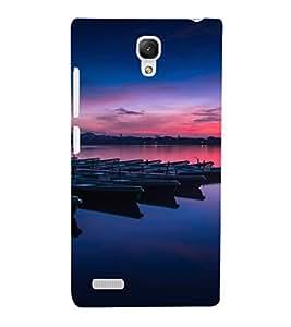 EPICCASE Calm view Mobile Back Case Cover For Xiaomi Redmi Note (Designer Case)