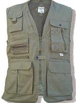 FoxFire Ultimate Safari Hunting Vest - Big & Tall Sizes (3XL-Big, Black) WO