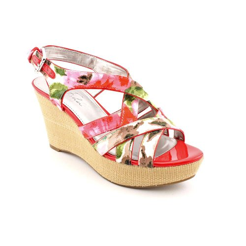 Marc Fisher Women'S Gleena3 Wedge Sandals In Pink Size 8 front-960601