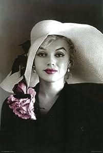 amazoncom marilyn monroe poster hat pink lips rare hot