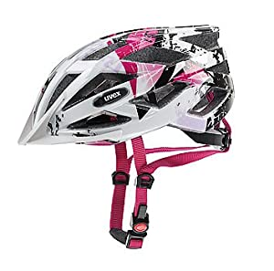 UVEX Radhelm Air wing, white-pink, 52-57 cm, S41.4.413.0115 from UVEX