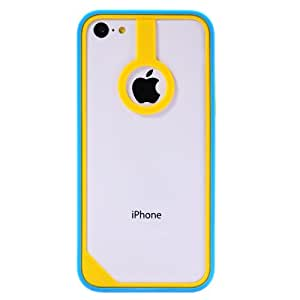 Baseus New Age Bumper For iPhone 5C (Yellow/Blue)