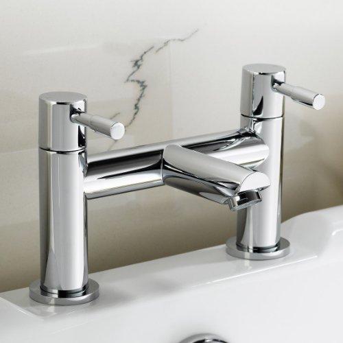 Belinda Bathroom Taps - Chrome Bath Filler Mixer Tap