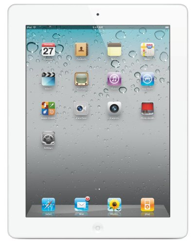 Imagen de Apple iPad 2 MC984LL / A Tablet (64GB, Wifi + 3G de AT & T, Blanco) de 2 ª generación