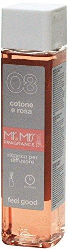 Mr&Mrs easy fragrance 008 Italia cotone e rosa 詰め替えボトル300ml