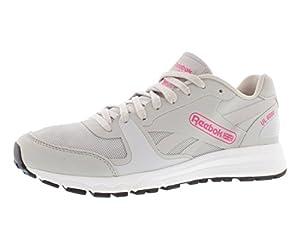 Reebok Women's UL 6000 Classic Shoe,Steel/Black/White/Solar Pink,8.5 M US