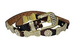 Jack & Ginni Leather Zarkan Designer Women Belt