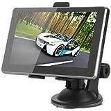 CARCHET 5 Pollici Touch Screen Navigatore GPS 8G MTK RAM 128MB x Auto Moto Con Supporto