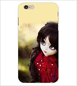 PrintDhaba Cute Doll D-1020 Back Case Cover for APPLE IPHONE 6 PLUS (Multi-Coloured)