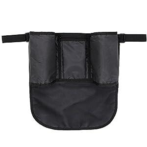 Damero fácil Organizador para silla de paseo Buggy Mate (color negro) por Damero