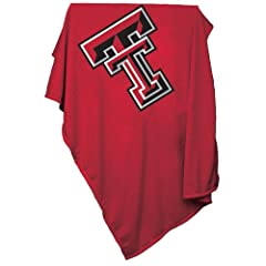 Brand New Texas Tech Red Raiders NCAA Sweatshirt Blanket Throw by Things for You