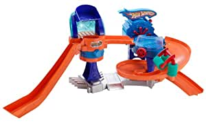 Hot Wheels Color Shifters Bubble-Matic Car Wash Playset