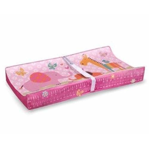 Baby's Journey Measure Me Changing Pad Cover - Animal Party Girl
