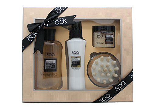 style-grace-spa-back-to-nature-massage-set-de-regalo-200ml-gel-limpiador-corporal-130ml-locion