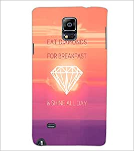 PrintDhaba Quote D-4747 Back Case Cover for SAMSUNG GALAXY NOTE 2 (Multi-Coloured)