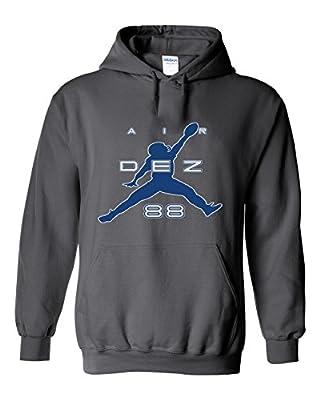 "Charcoal Dallas Bryant ""Air Dez"" Hooded Sweatshirt"