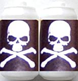Skull & Bones White Fun Party String Lights (SJ)