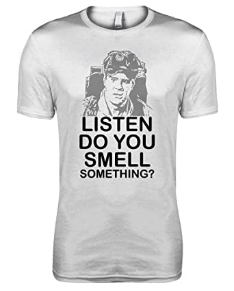 Ghostbusters - Ray Stantz - Listen do you smell Something Movie Womens T-shirt