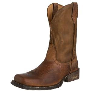 Ariat Men's Rambler Boot,Earth/Brown Bomber,8 EE US
