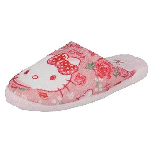 Ragazze Hello Kitty pantofole hk93657, Rosa