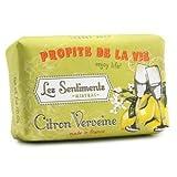 Mistral LLC Les Sentiments French Gift Soap, Citron Verbena