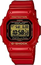 Casio G-Shock 30th Anniversary Gold Dial Red Resin Mens Watch GW-M5630A-4CR