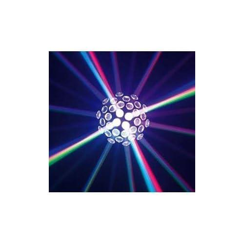 AMERICAN DJ モーター内蔵カラーLEDミラーボールエフェクト SUNRAY TRI LED DMX