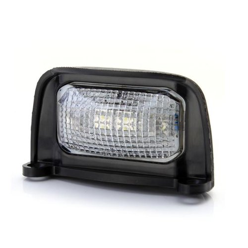 Waterproof 4 Led 0.5W Number Plate Light Lamp White For Trailer Truck Boat