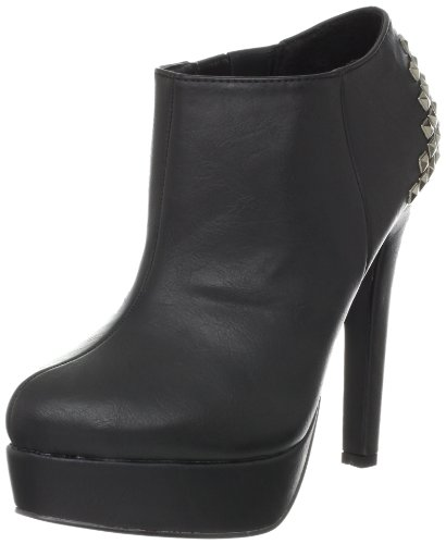 Madden Girl Women's Vixxenn Ankle Boot,Black,6 M US