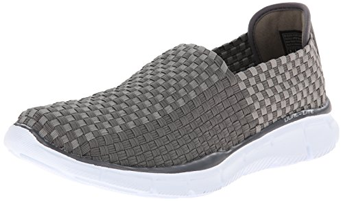 Skechers Equalizer Familiar, Low-Top Sneaker uomo, Grigio (Grau (CHAR)), 44