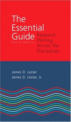 The Essential Guide: Research Writing Across the...