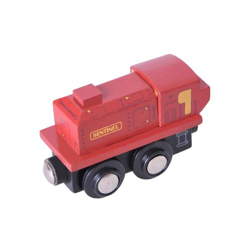 Bigjigs Rail BJT435 Heritage Collection Sentinel - 1
