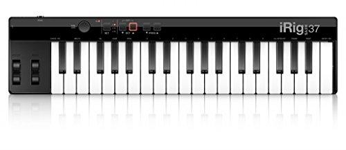 IK-Multimedia-IP-37-IRIG-CLAVES-EN-37-Controlador-Mini-teclado-Teclas-MIDI-para-Mac-PC-con-el-cable-USB