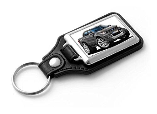 wicked-artz-cartoon-car-ford-ranger-pick-up-classic-style-key-ring-grey