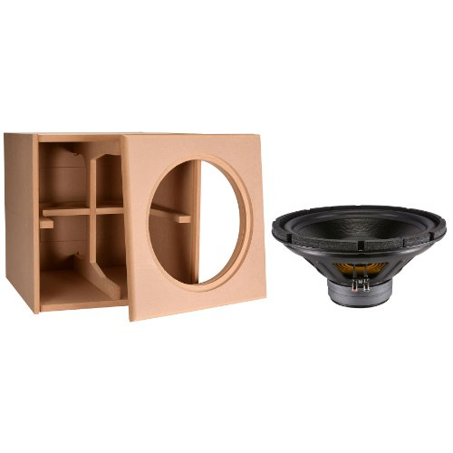 """Dayton Audio 15"""" Dvc Subwoofer And Cabinet Package"""