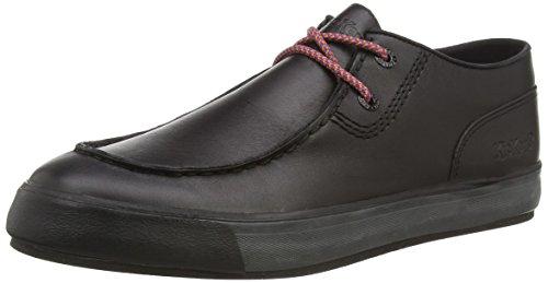 Kickers Tovni Trap Lthr Am, Sneaker basse uomo, colore nero, 44 EU
