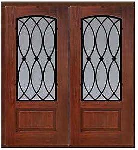 Impact Resistant Double Door 80 Fiberglass La Salle Arch