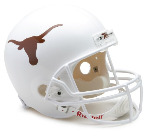 NCAA Texas Longhorns Deluxe Replica Football Helmet Riddell Full Sized Helmets autotags B001HSNIBM