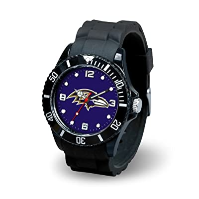 "USA Wholesaler - SPR-WTSPI0701 - Baltimore Ravens NFL Spirit Series"" Mens Watch"""