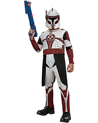 Spirit Star Wars Clone Trooper Commander Fox Child Costume, Childs Large (Clone Wars Commander Fox Costume)