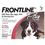 FRONT LINE PLUS FLEA & TICK 89-132LBS