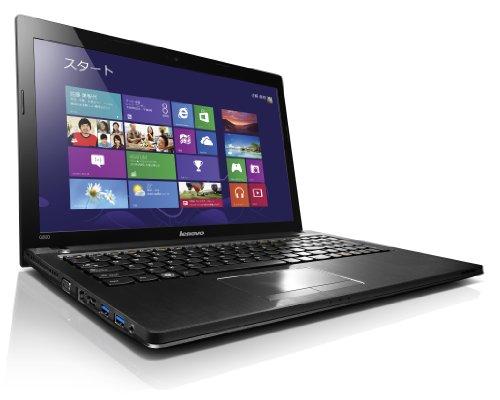 【Amazon.co.jp限定】Lenovo G500 (Celeron-1005M/320GB/2GB/DVD-SM/Win8/15.6型/ブラック) 59373976