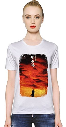 Once Upon A Time In China Poster T-shirt donna Women T-Shirt Girl Ladies Stylish Fashion Fit Custom Apparel By Slick Stuff Medium