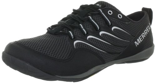 Merrell Mens Trail Glove Casual Black/granite Leather Shoe 11.0