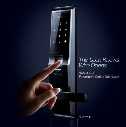 SAMSUNG Fingerprint Digital Door Lock SHS 523...