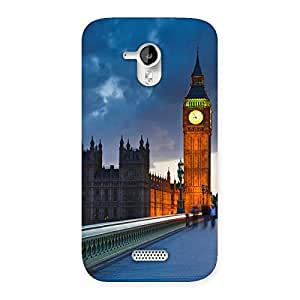 Special London City Multicolor Back Case Cover for Micromax Canvas HD A116