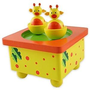 Yellow Giraffe Music Box From Snuggle Collection from Snuggle Collection