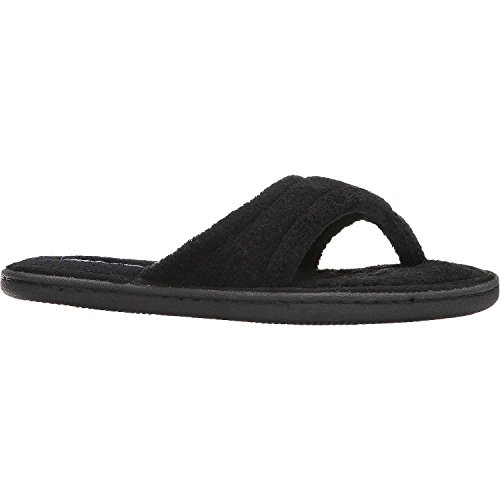 tempur-pedic-womens-airsock-thong-slipper-black-8-m-us