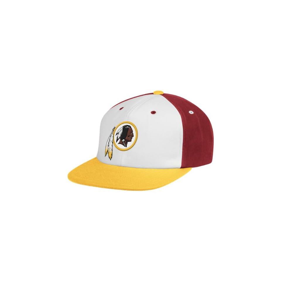 Mitchell   Ness Washington Redskins Wool Snapback Adjustable Hat on ... 861500d70