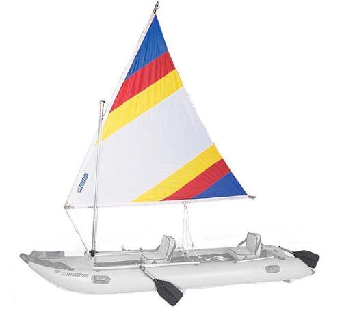 Cheap Sea Eagle Paddle Ski Inflatable Kayak Sailing Rig (SRPSK)